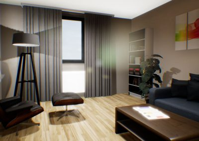 VR visualisation interior design
